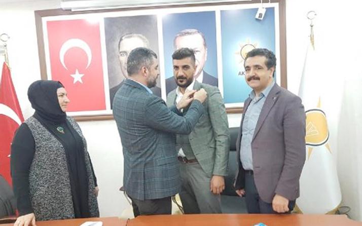 SP Derik İlçe Başkanı istifa edip AK Parti'ye geçti