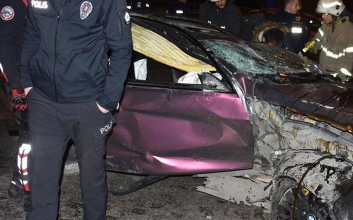 Makas atan araç trafikte dehşet saçtı