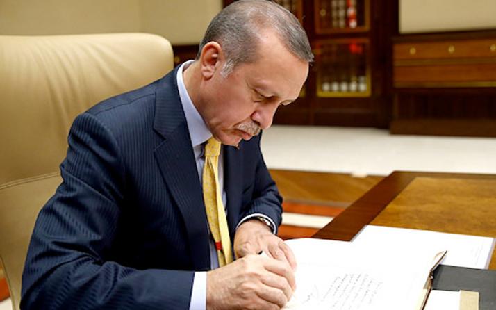 Erdoğan imzaladı atama kararları Resmi Gazete'de