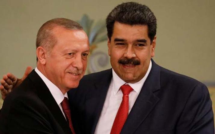 Nicolas Maduro'dan Erdoğan paylaşımı!
