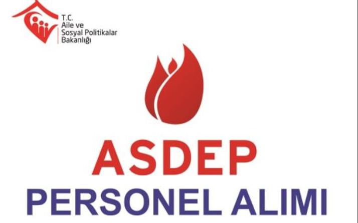 ASDEP iş ilanı 3 bin kişi alacak şartlar neler?