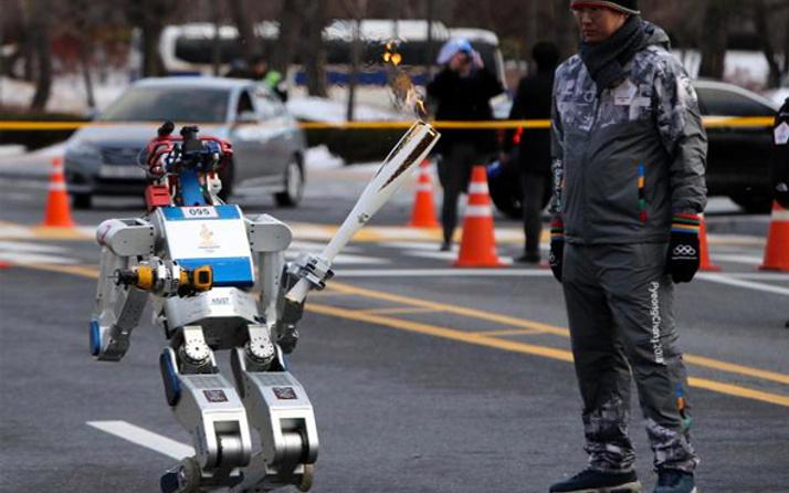 Güney Kore'deki Kış Olimpiyatları'nda 85 robot görev alacak