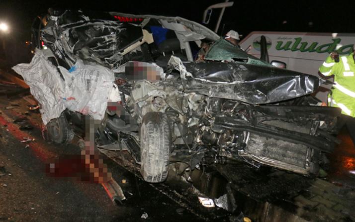 Aydın'da Sevgililer Günü dönüşü korkunç kaza