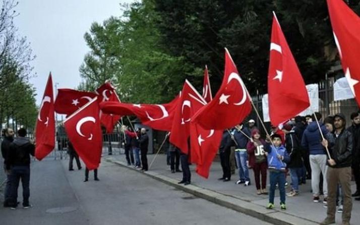 Türkler nöbet tutunca teröristler yaklaşamadı