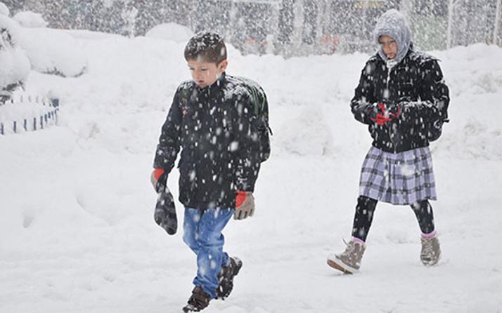 Kars'ta okullar tatil mi? Kar tatili