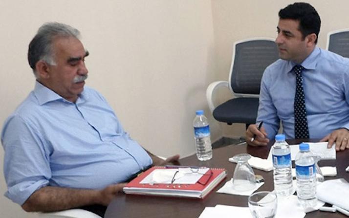 'Öcalan'dan talimat alıyor' iddiasına Demirtaş'tan cevap!