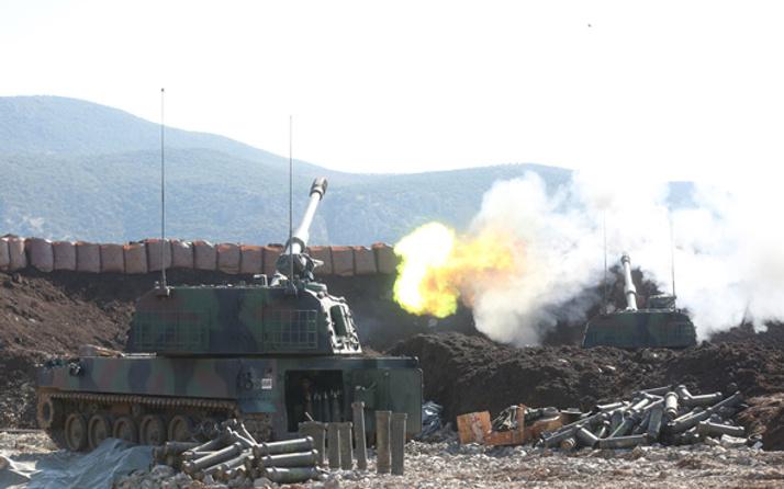 Afrin'de dünya harp tarihinde nadir görülen olay