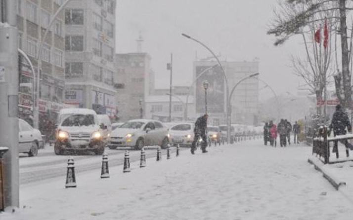 Ankara hava durumu kar geliyor saati de belli!