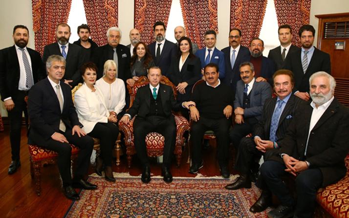 Erdoğan sanatçılardan bakın ne istemiş Sibel Can anlattı