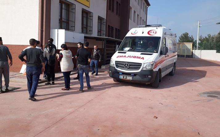 İzmir'de ilköğretim okulunda patlama: Ölü ve yaralılar var