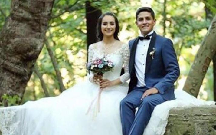 3 ay önce evlenen Afrin şehidi Ömer Bilal Akpınar yürek yaktı