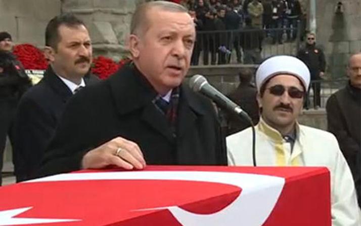 Erdoğan şehit cenazesinde müjdeyi verdi: Afrin fethi yakındır