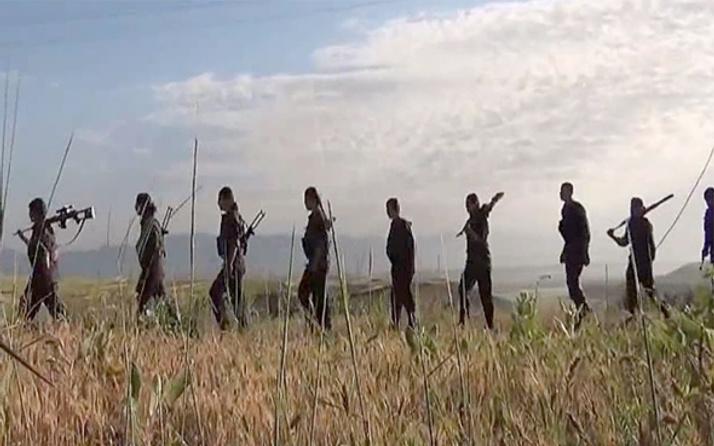 Afrin'den kaçan YPG'li teröristler oraya gitmiş!