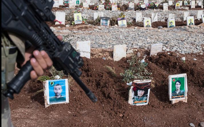 PKK'nın elebaşları Afrin'de öldürüldü