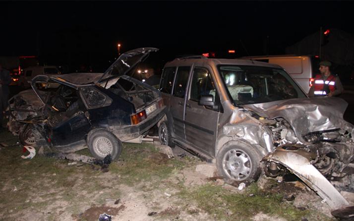 Kayseri'de trafik kazası: 1 ölü 3 yaralı