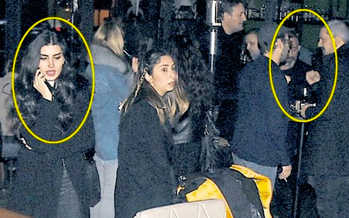 Cem saklandı İdil kaçtı! Muhabirleri görünce telaş yaptı