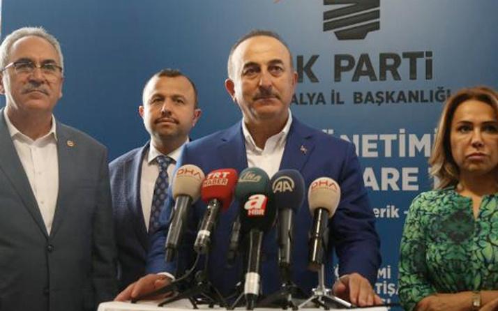 Çavuşoğlu'ndan Suriye operasyonu açıklaması