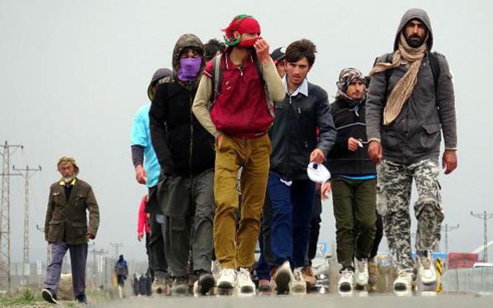 Sınırda büyük tehlike! Türkiye'ye sızdılar
