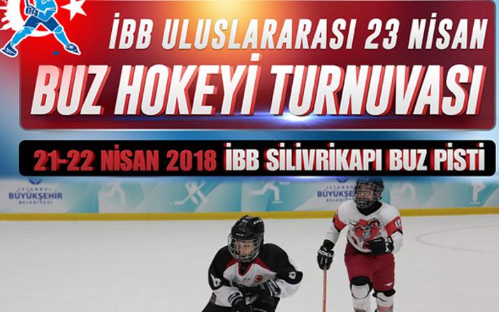 İBB'den çocuklara özel 23 Nisan Buz Hokeyi Turnuvası