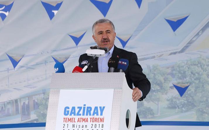 Bakan Arslan: Belediyecilik yapacaksan Fatma Şahin gibi yapacaksın...