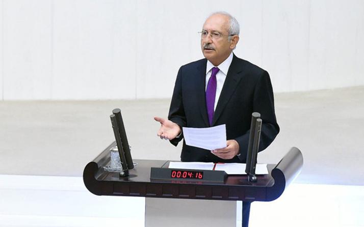 Meclis'te gerginlik! Kılıçdaroğlu'nun sözleri ortalığı karıştırdı