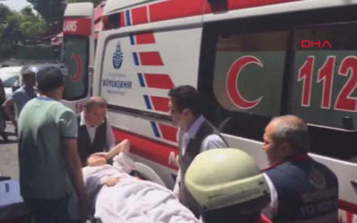 Sultanahmet'te otelde yangın çıktı! Mahsur kalanlar var