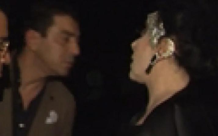 Nur Yerlitaş nişan töreninde olay çıkardı: O terzi karıyı masana oturtma!