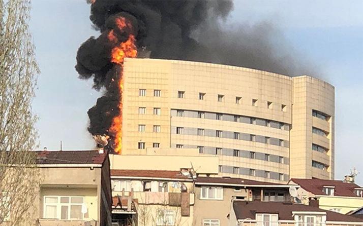 Taksim İlkyardım Hastanesi cayır cayır yandı!