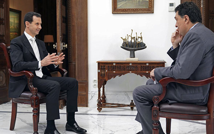 Yunan medyası gazladı Esed Türkiye'ye fena salladı!...