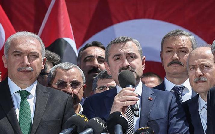 AK Parti İstanbul İl Başkanlığı İsrail'i kınadı!