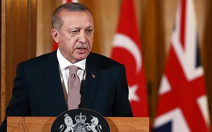 Erdoğan'dan İngiliz muhabire: Teröristten gazeteci olmaz