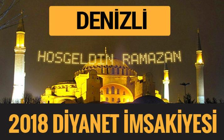 2018 İmsakiye Denizli- Sahur imsak vakti iftar ezan saatleri