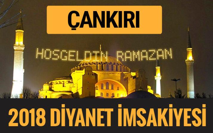 2018 İmsakiye Çankırı- Sahur imsak vakti iftar ezan saatleri