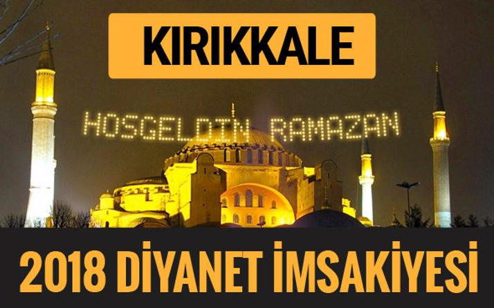 2018 İmsakiye Kırıkkale- Sahur imsak vakti iftar ezan saatleri