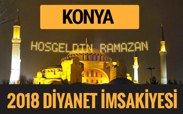 2018 İmsakiye Konya- Sahur imsak vakti iftar ezan saatleri