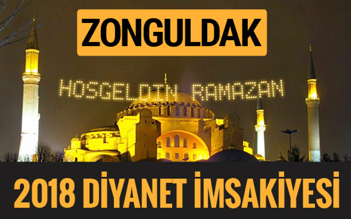 2018 İmsakiye Zonguldak- Sahur imsak vakti iftar ezan saatleri