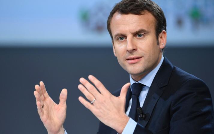 Macron'dan Filistin açıklaması