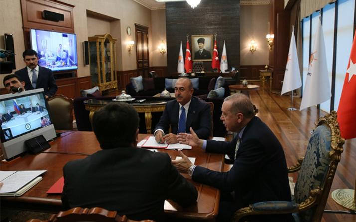 Cumhurbaşkanı Erdoğan, Maduro ile görüştü