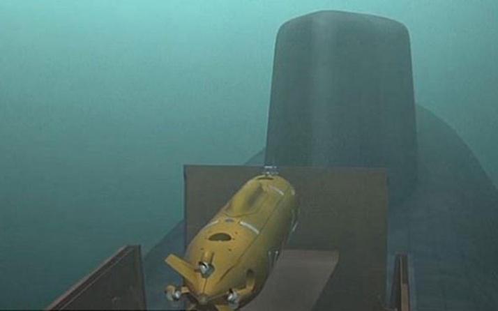 İşte Putin'in yeni gizemli silahı! 'Kamikaze' denizaltısı…