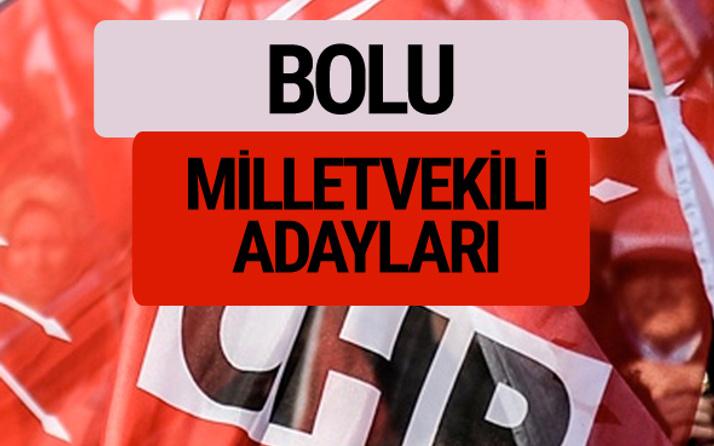 CHP Bolu milletvekili adayları isimleri YSK kesin listesi