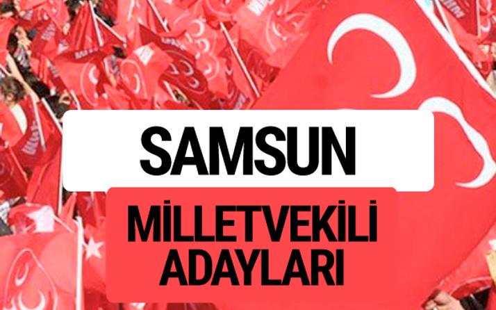 MHP Samsun milletvekili adayları 2018 YSK kesin listesi