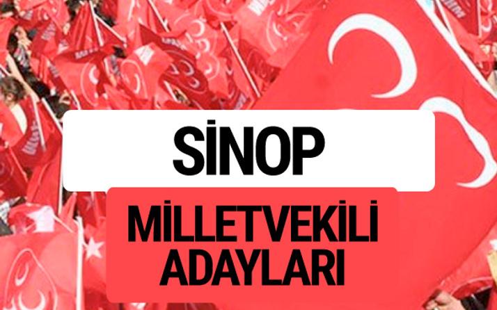 MHP Sinop milletvekili adayları 2018 YSK kesin listesi