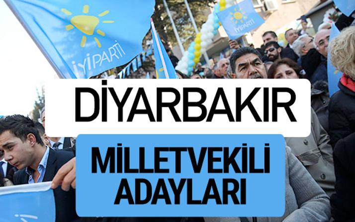 Diyarbakır İyi Parti milletvekili adayları YSK kesin isim listesi