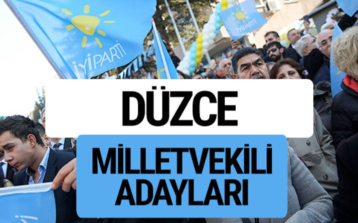 Düzce İyi Parti milletvekili adayları YSK kesin isim listesi