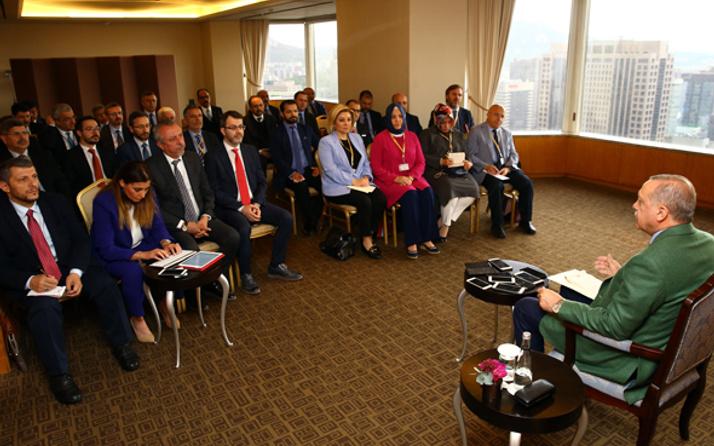 Erdoğan'dan Abdullah Gül yorumu