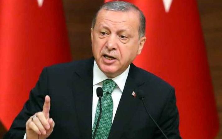 Erdoğan: Kararlı bir şekilde Afrin'de duruyoruz