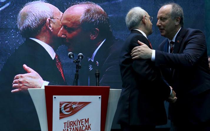 İnce ve Kılıçdaroğlu ortak mitingleri iptal etti