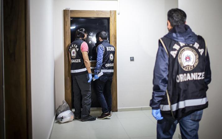 Ankara'da FETÖ operasyonu 'hücre evinde okunmuş su'