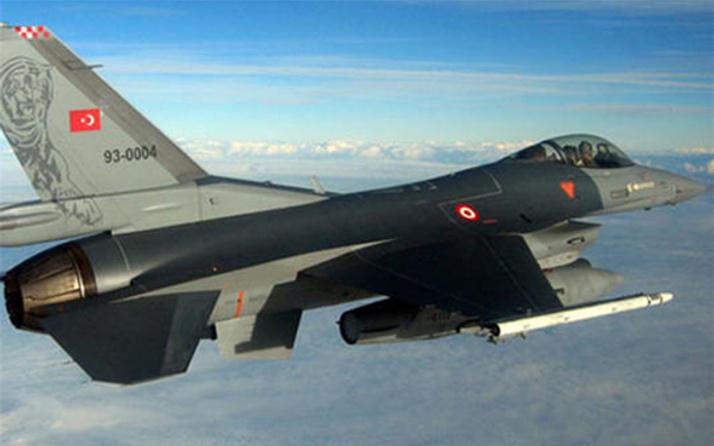 Türk jetleri terörün kalbine bomba yağdırdı!