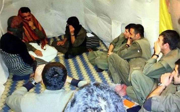 Fotoğraflar ortaya çıktı! PKK'lılar kadın kıyafeti giyip...